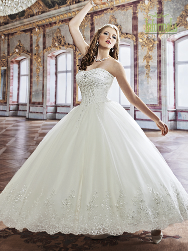 Color Bridal Ball Gowns - Style - 2B772