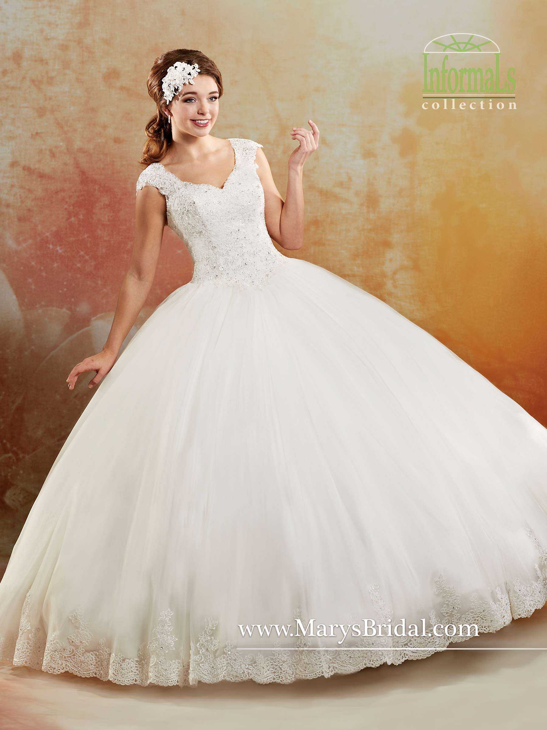 acea7c9e2fac1 Bridal Ball Gowns | Style - 2B790 in White Color