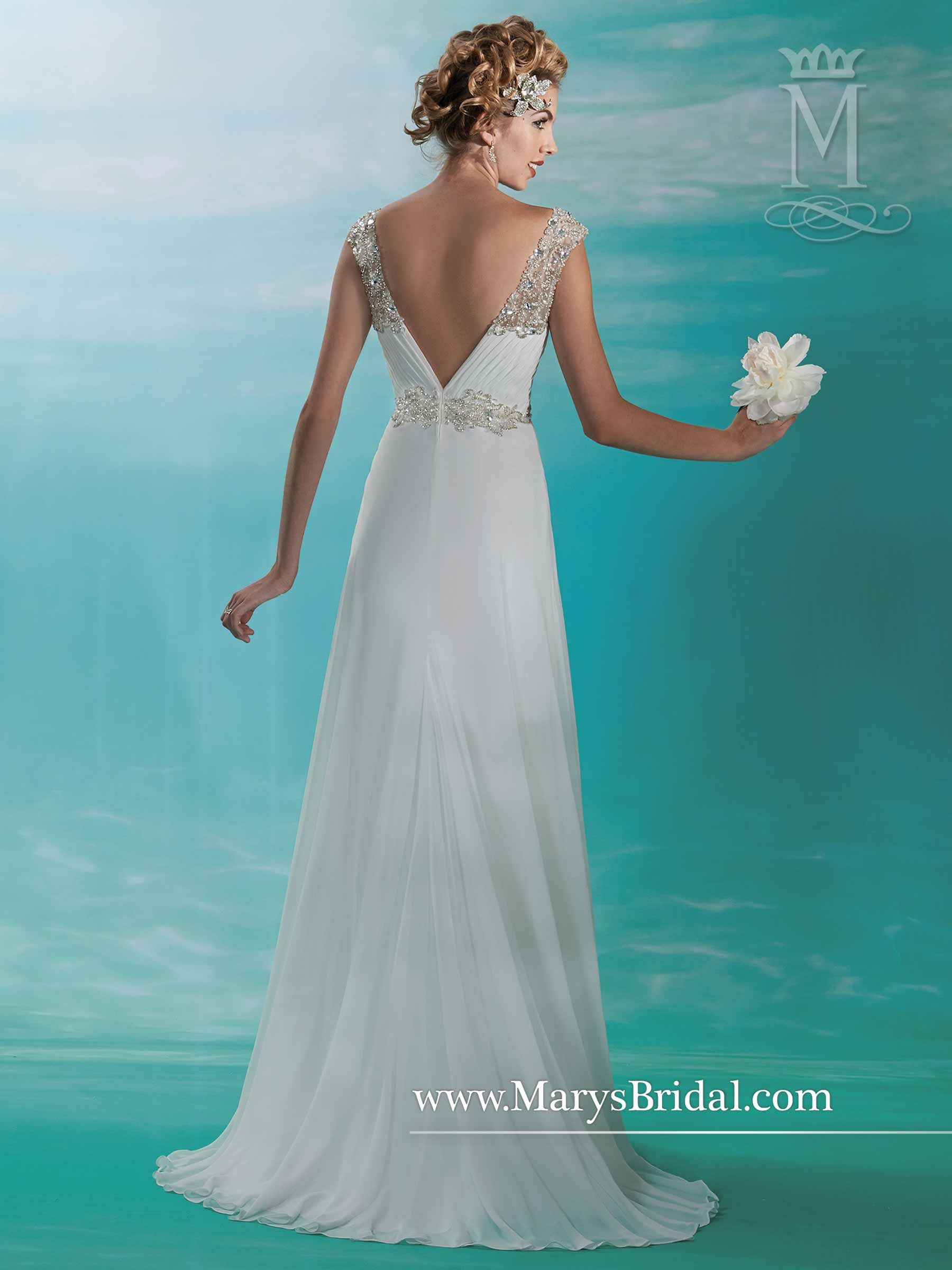 Bridal Dresses | Style - 3Y370 in Ivory/Multi, White/Multi Color