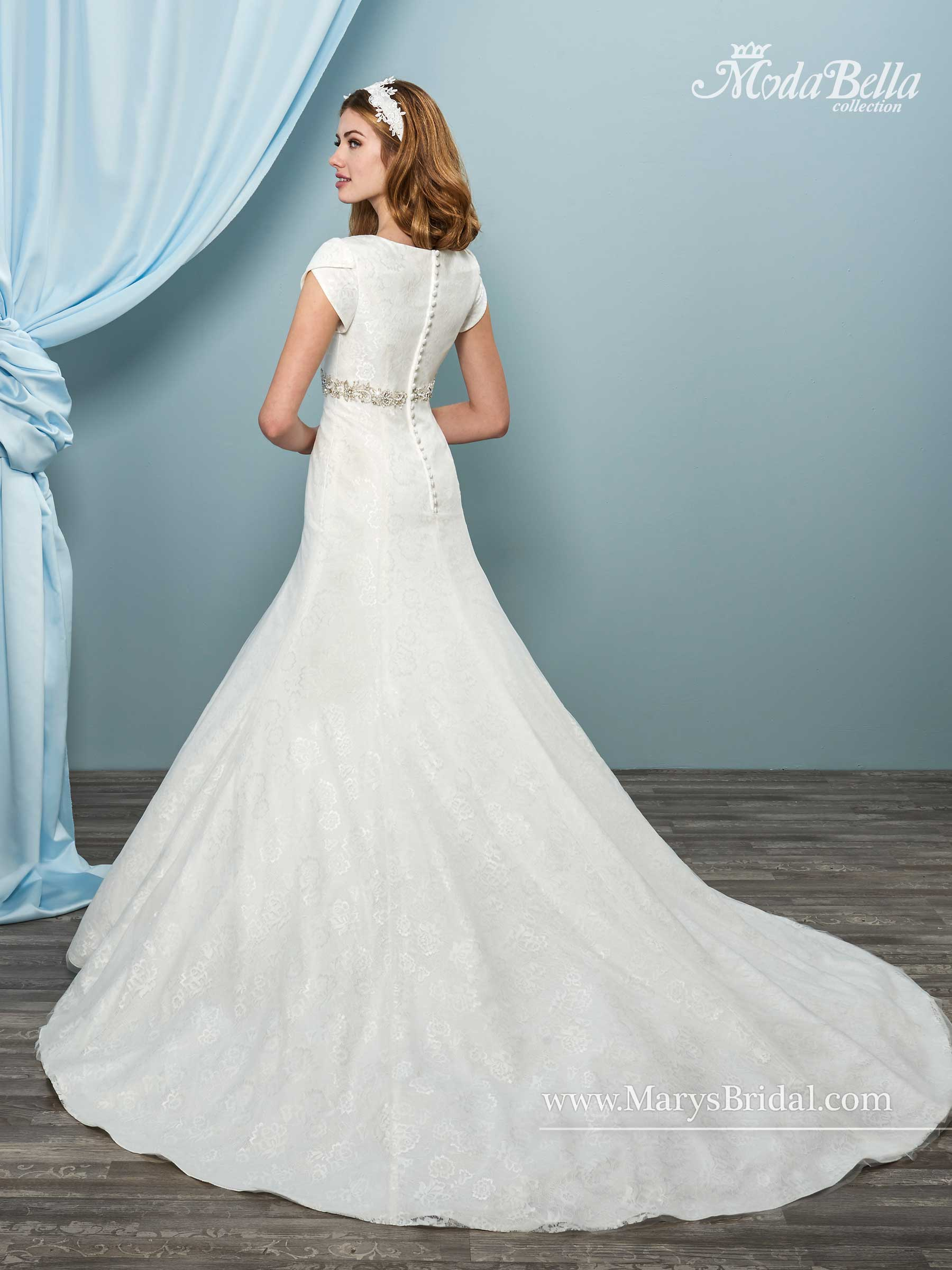 Bridal Dresses | Style - 3Y621 in Ivory or White Color