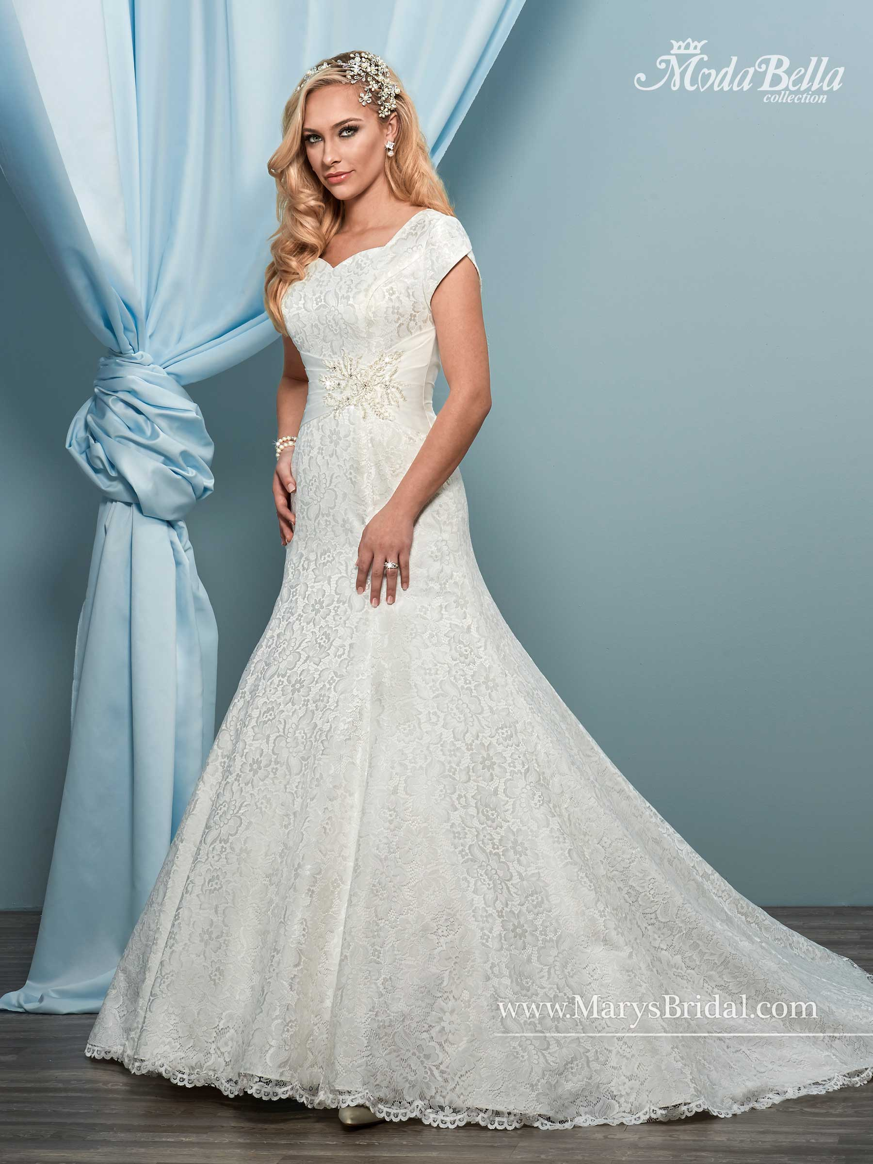 Bridal Dresses | Style - 3Y622 in Ivory or White Color