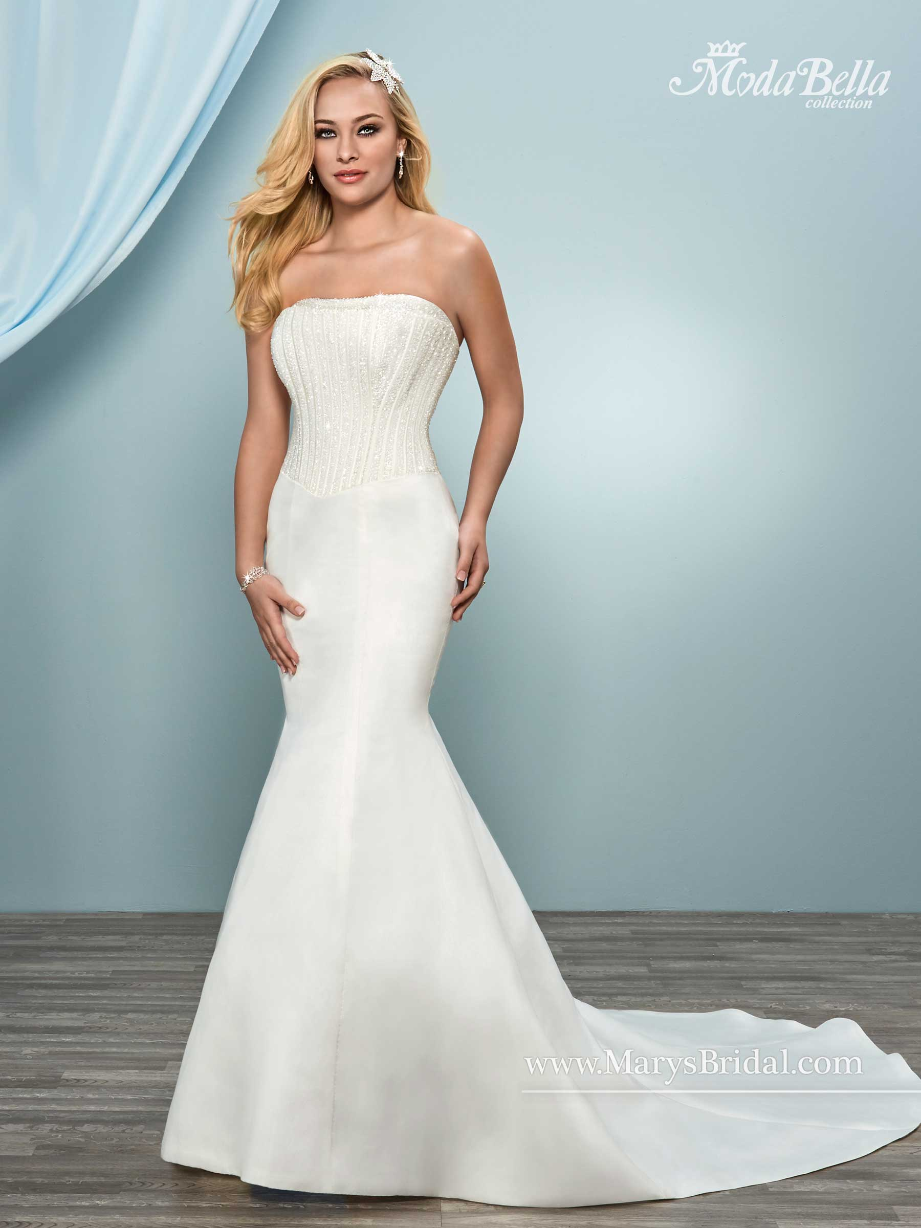 Bridal Dresses | Style - 3Y649 in Ivory or White Color