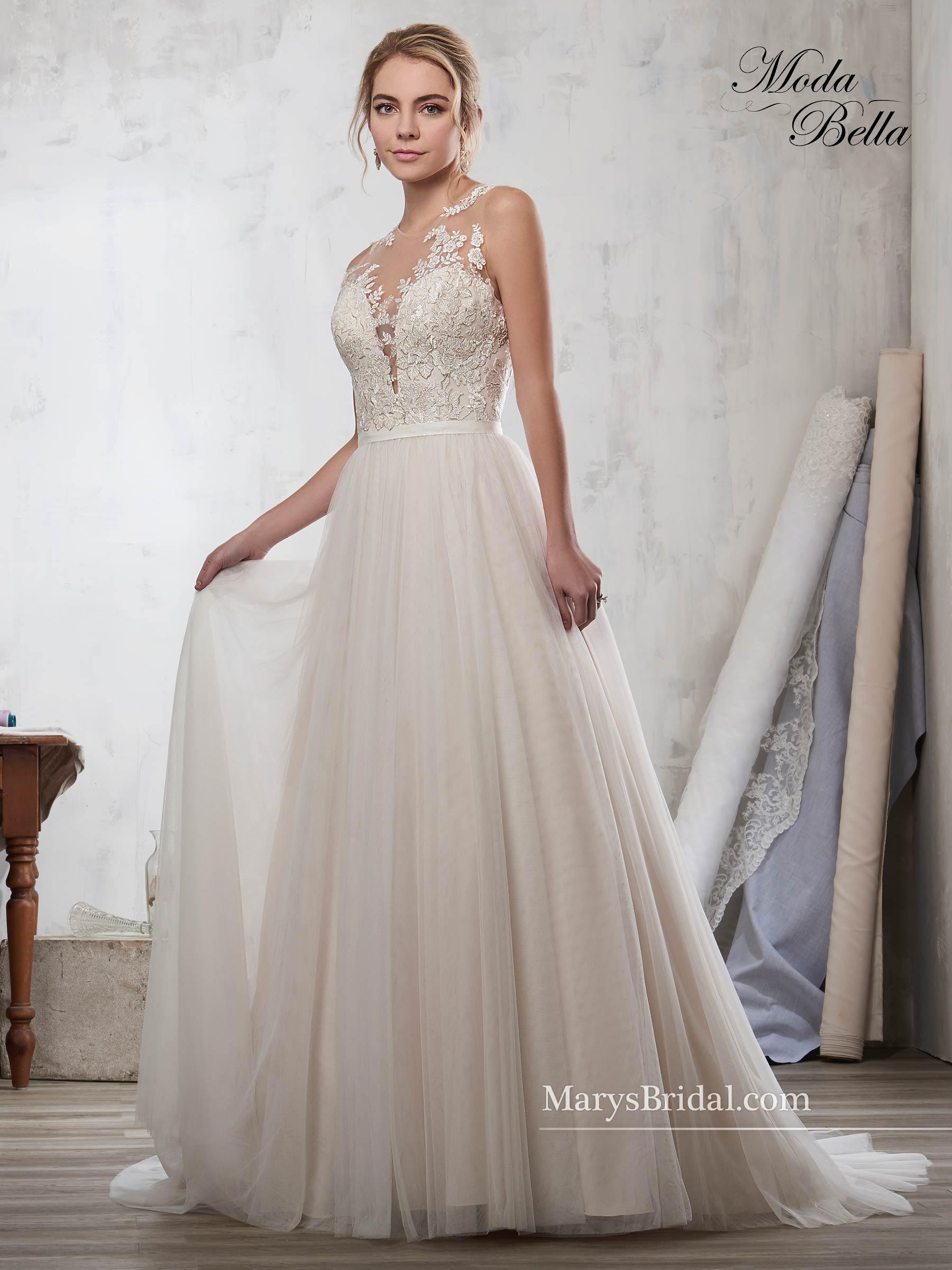 Bridal Dresses | Moda Bella | Style - 3Y709