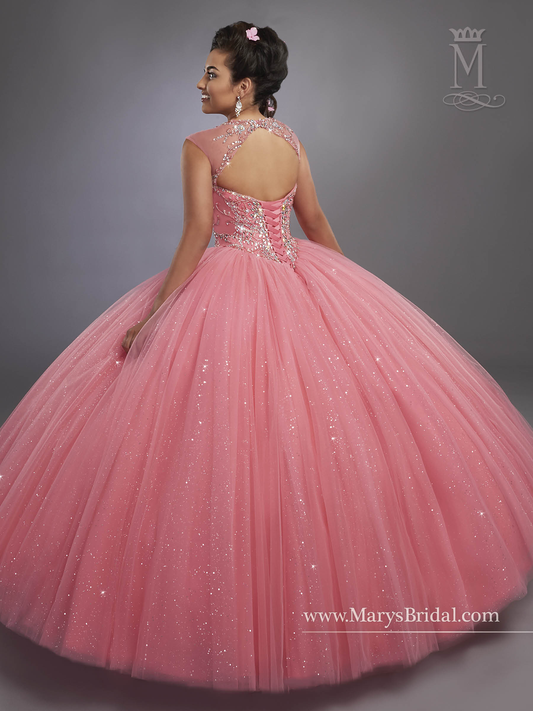 Marys Quinceanera Dresses | Style - 4768 in Calypso, Royal, or White ...