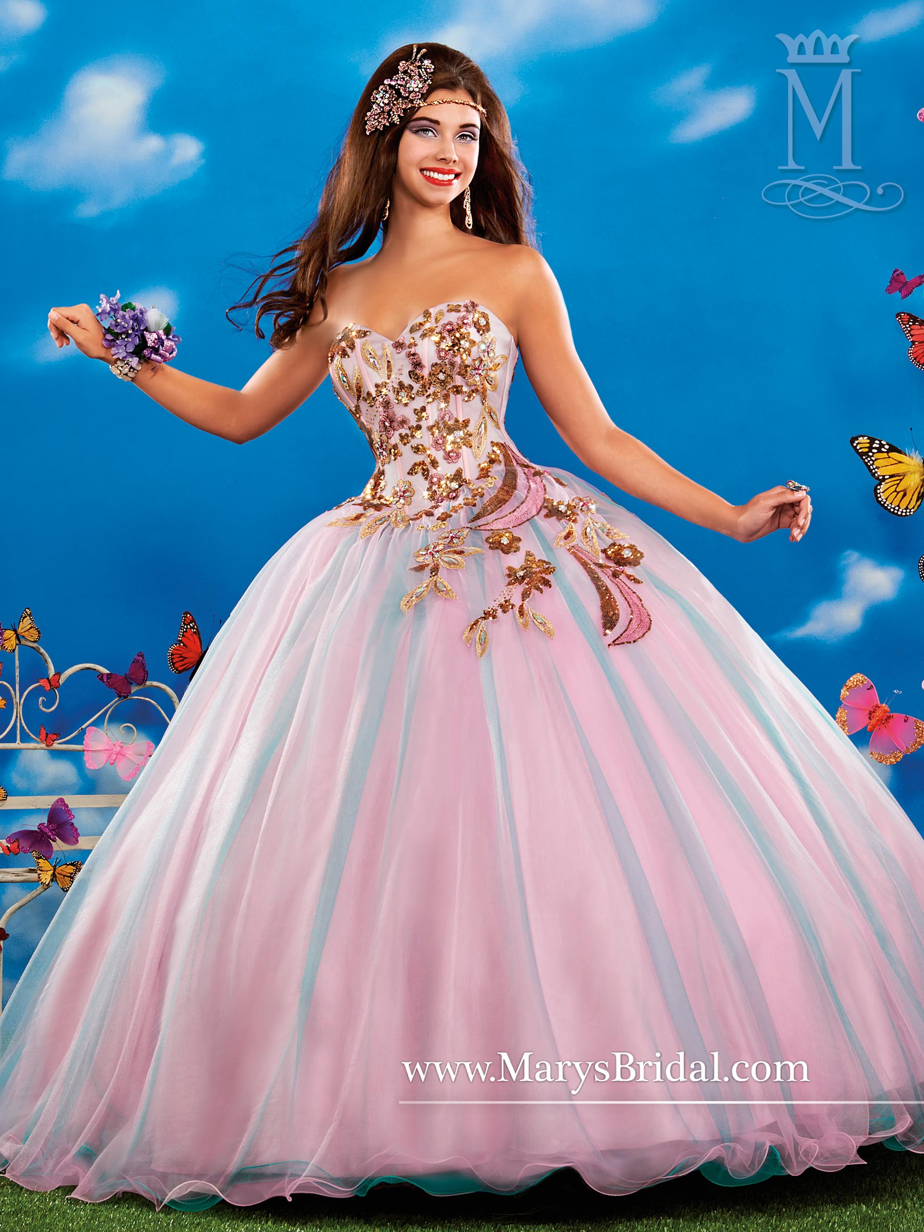 Marys Quinceanera Dresses | Mary's Quinceanera | Style - 4Q345