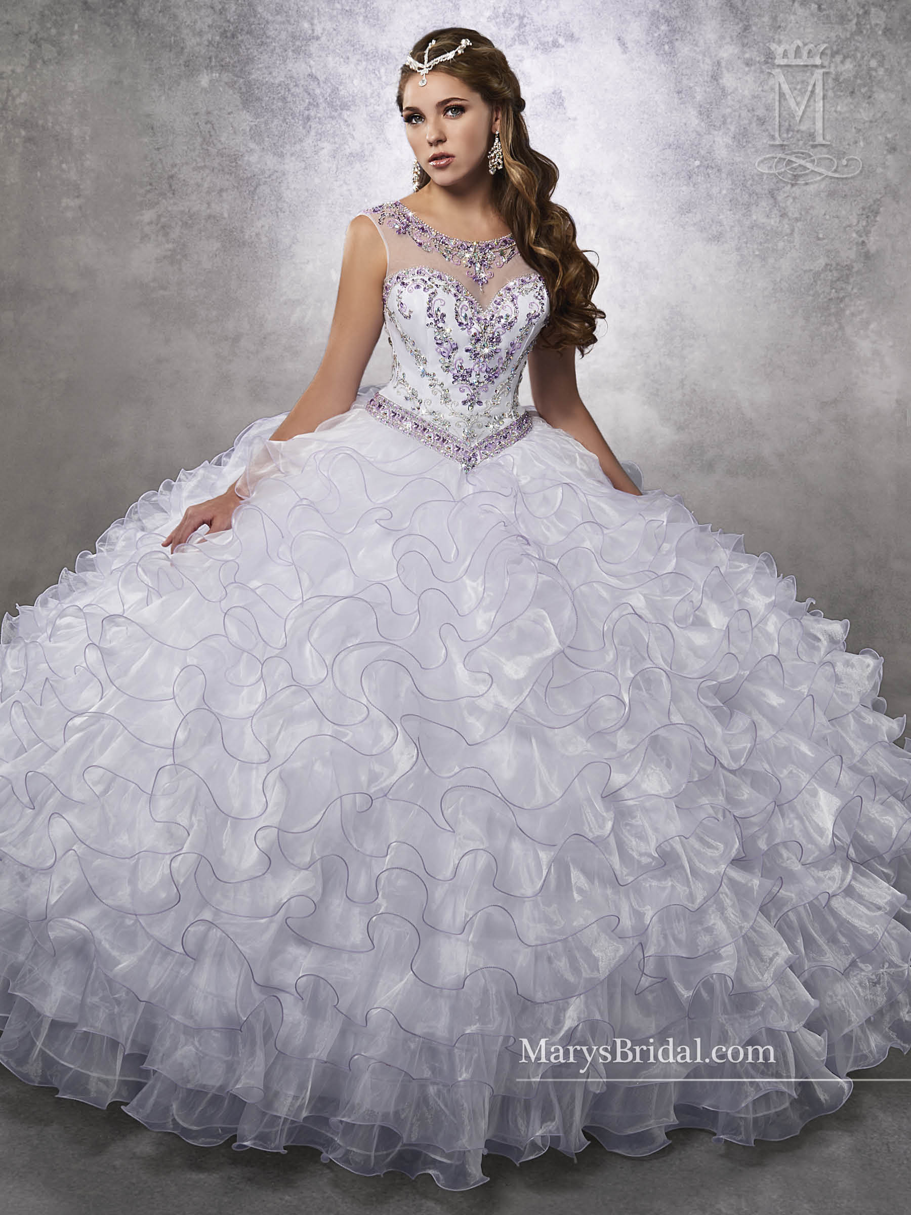 Marys Quinceanera Dresses   Mary's Quinceanera   Style - 4Q481