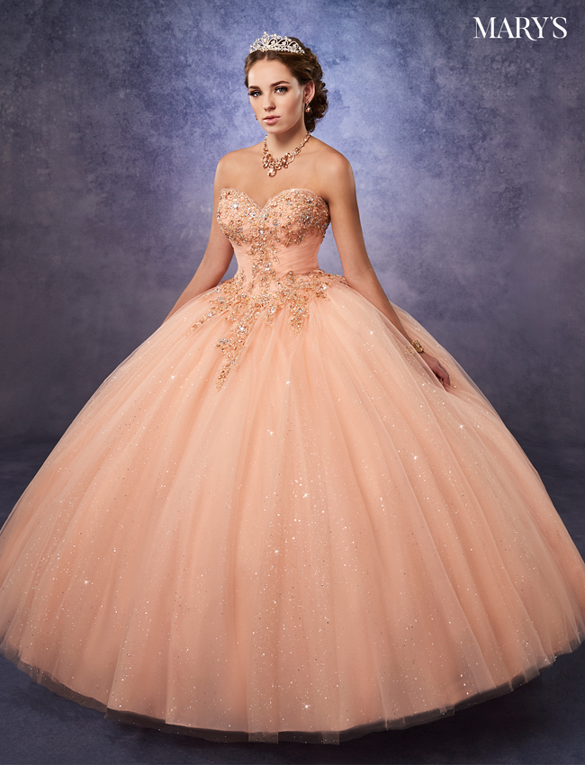 Lilac Color Marys Quinceanera Dresses - Style - 4Q491