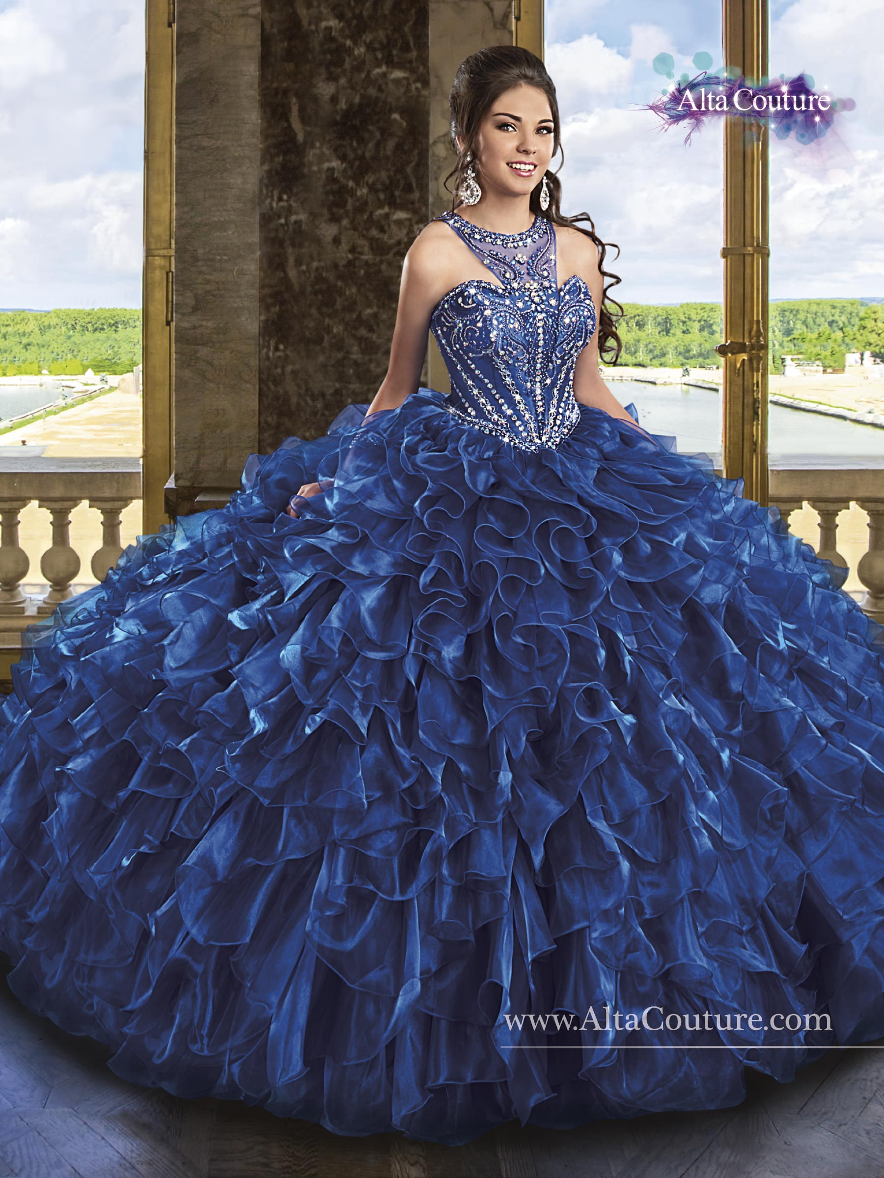 Celebrity Prom Dresses, Sexy Evening Gowns - PromGirl: DJ-2551