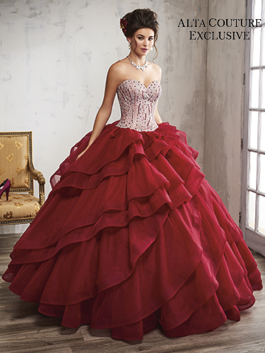 Color Quinceanera Couture Dresses - Style - 4T192