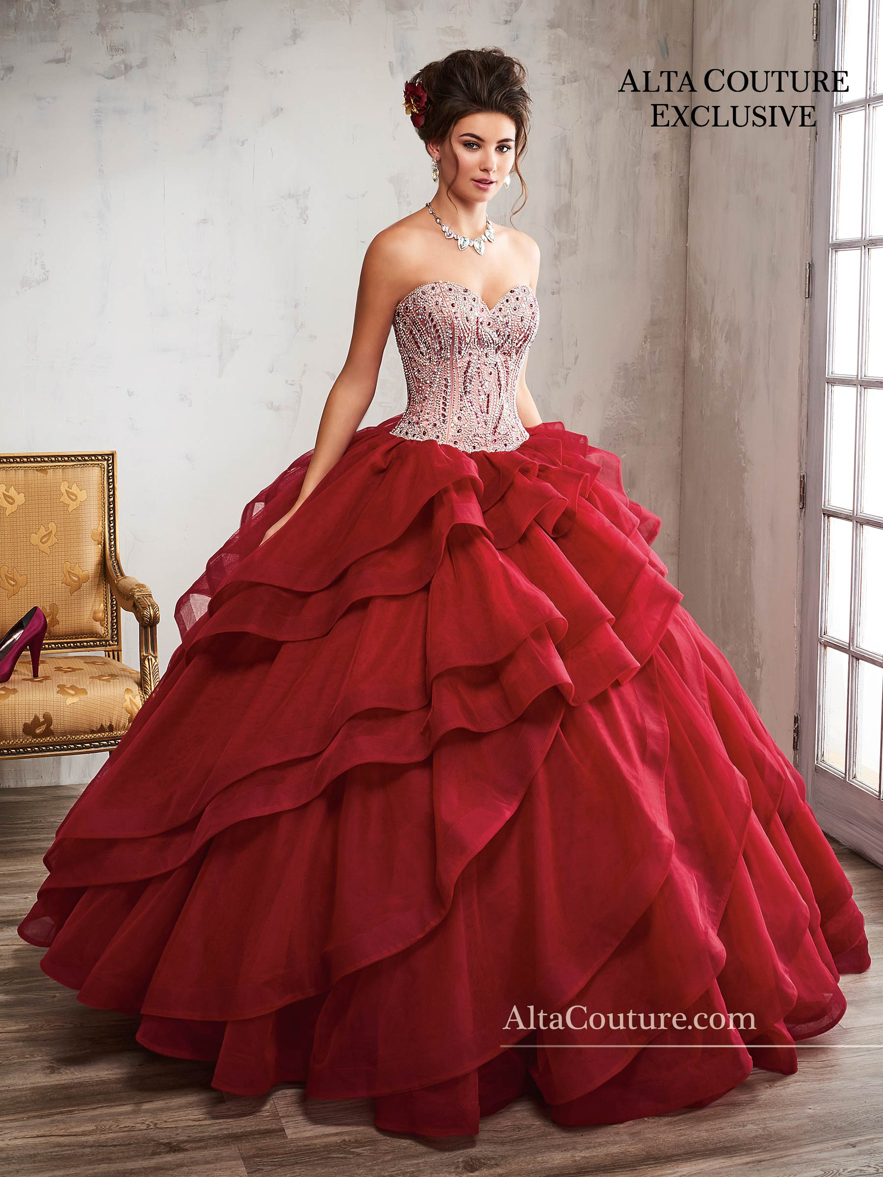 Quinceanera Couture Dresses | Alta Couture | Style - 4T192