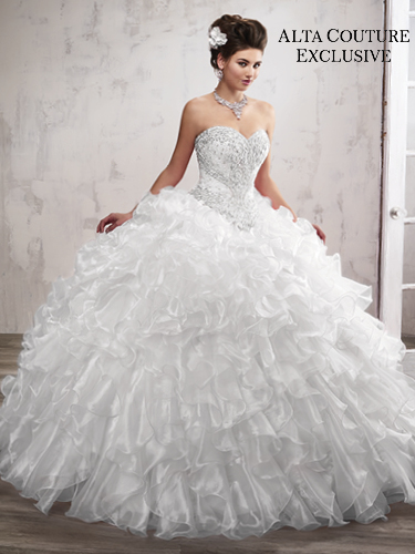 Color Quinceanera Couture Dresses - Style - 4T194