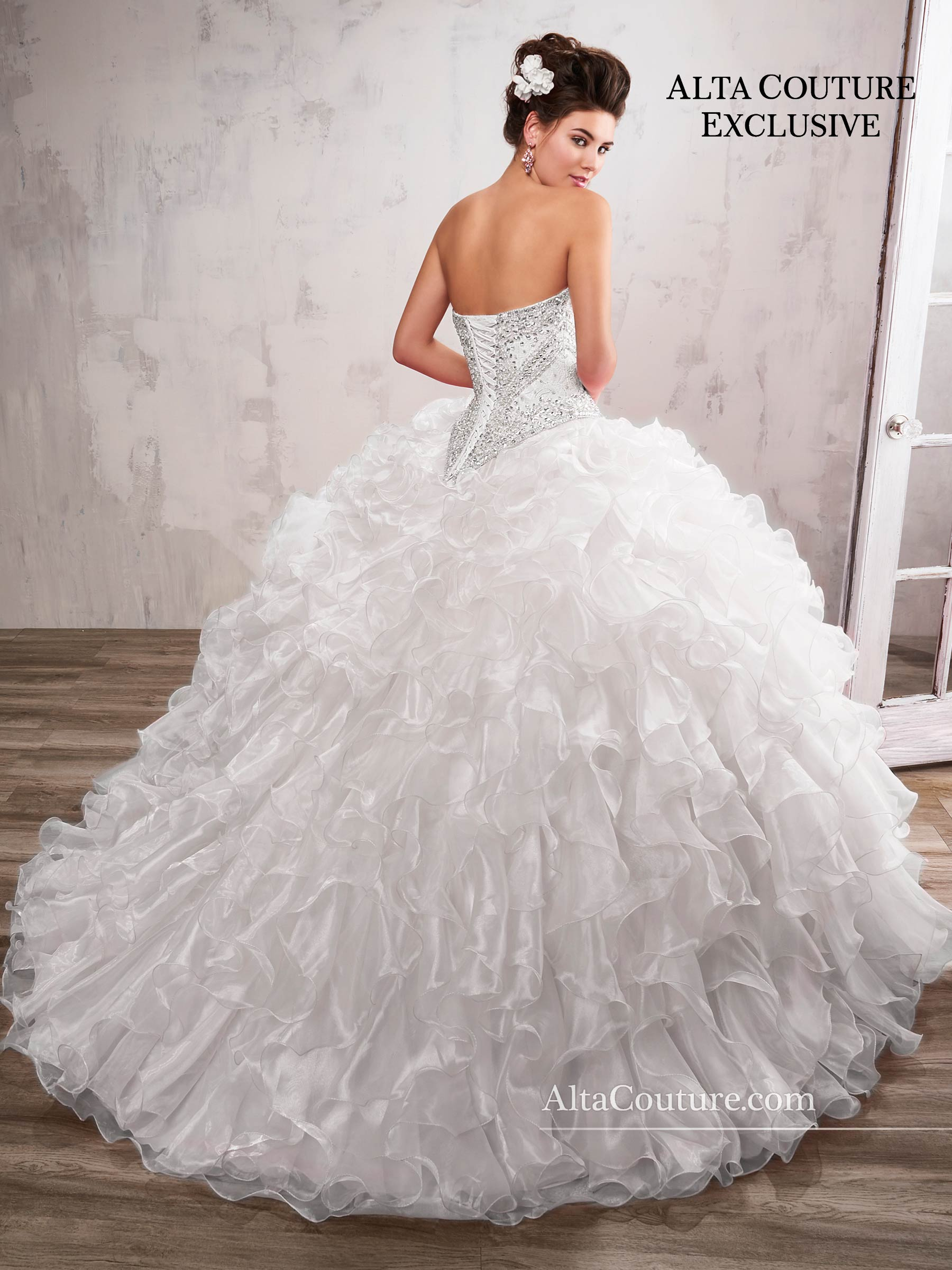 Quinceanera Couture Dresses | Alta Couture | Style - 4T194