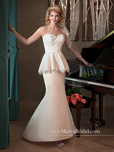 Color Bridal Wedding Dresses - Style - 6200