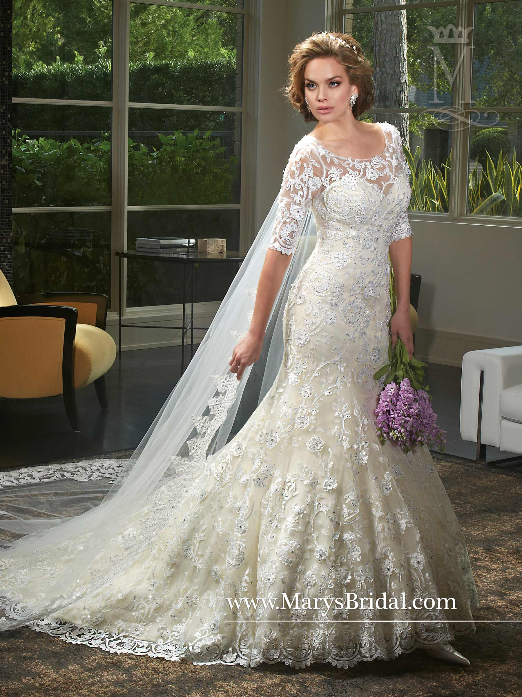 d4ead9d4885 Couture Damour Bridal Dresses | Style - 6403 in Vanilla or White Color