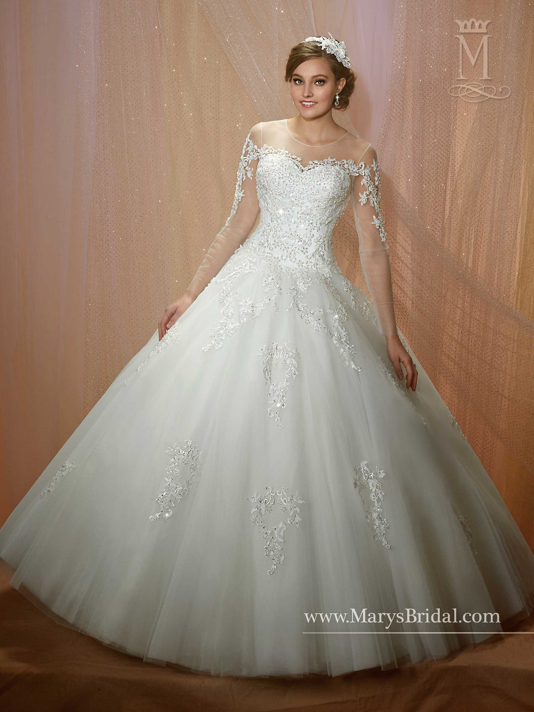 Couture Damour Bridal Dresses Style 6462 in Ivory or
