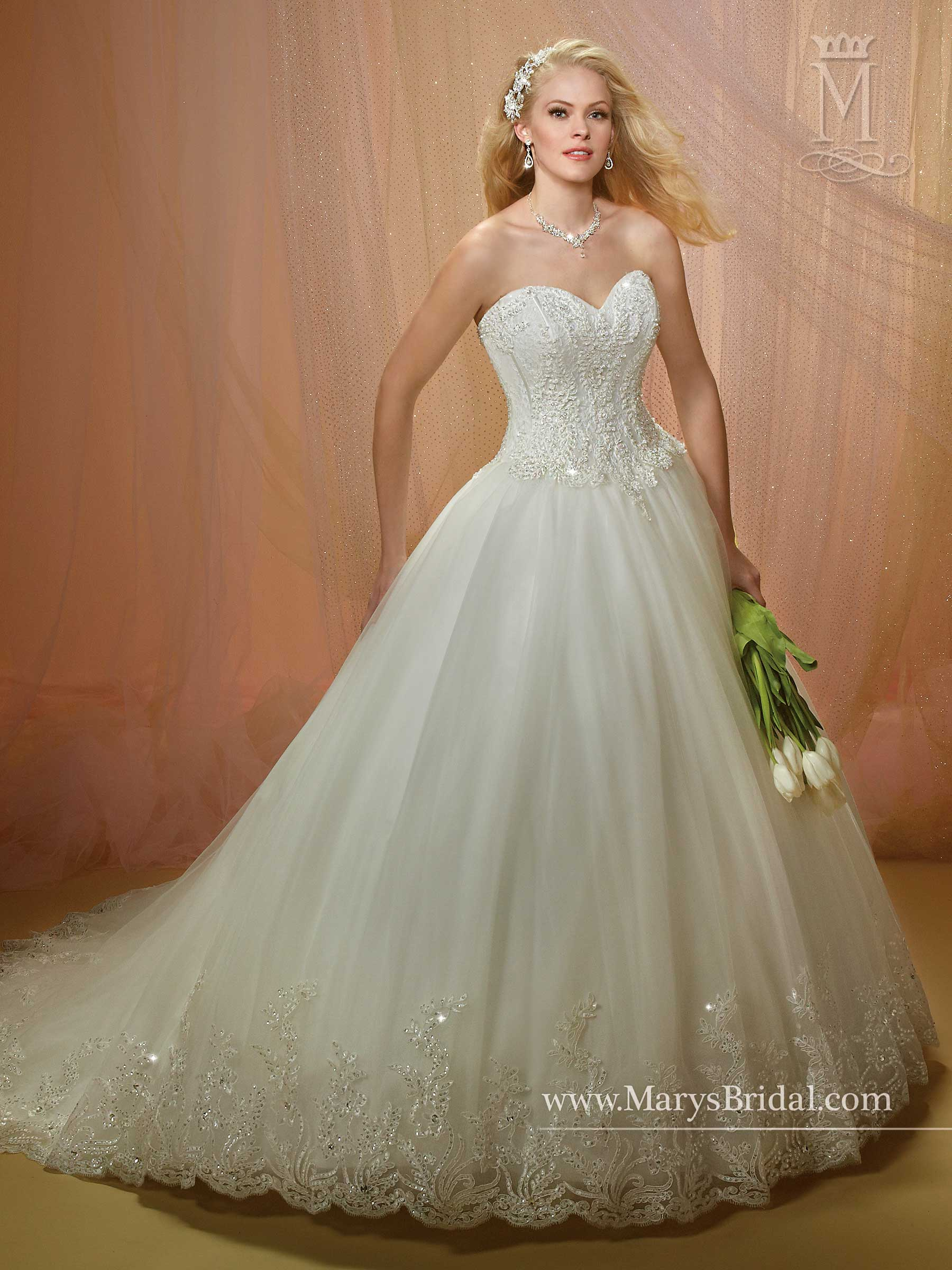 bbd57dfded0a Bridal Wedding Dresses | Style - 6480 in Ivory or White Color