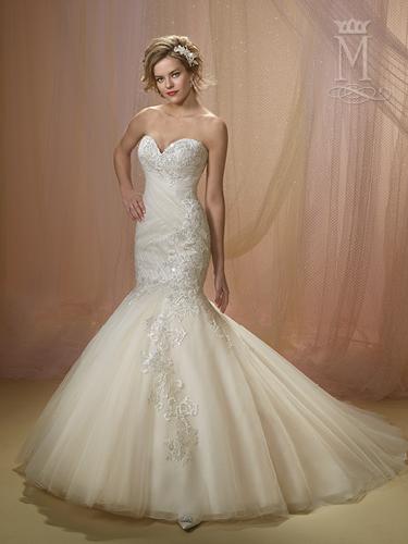 Color Bridal Wedding Dresses - Style - 6500