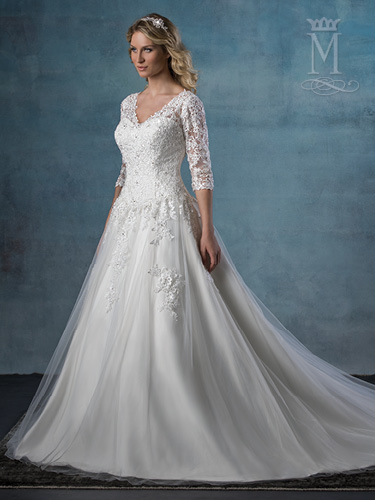 Ivory Color Bridal Wedding Dresses - Style - 6520