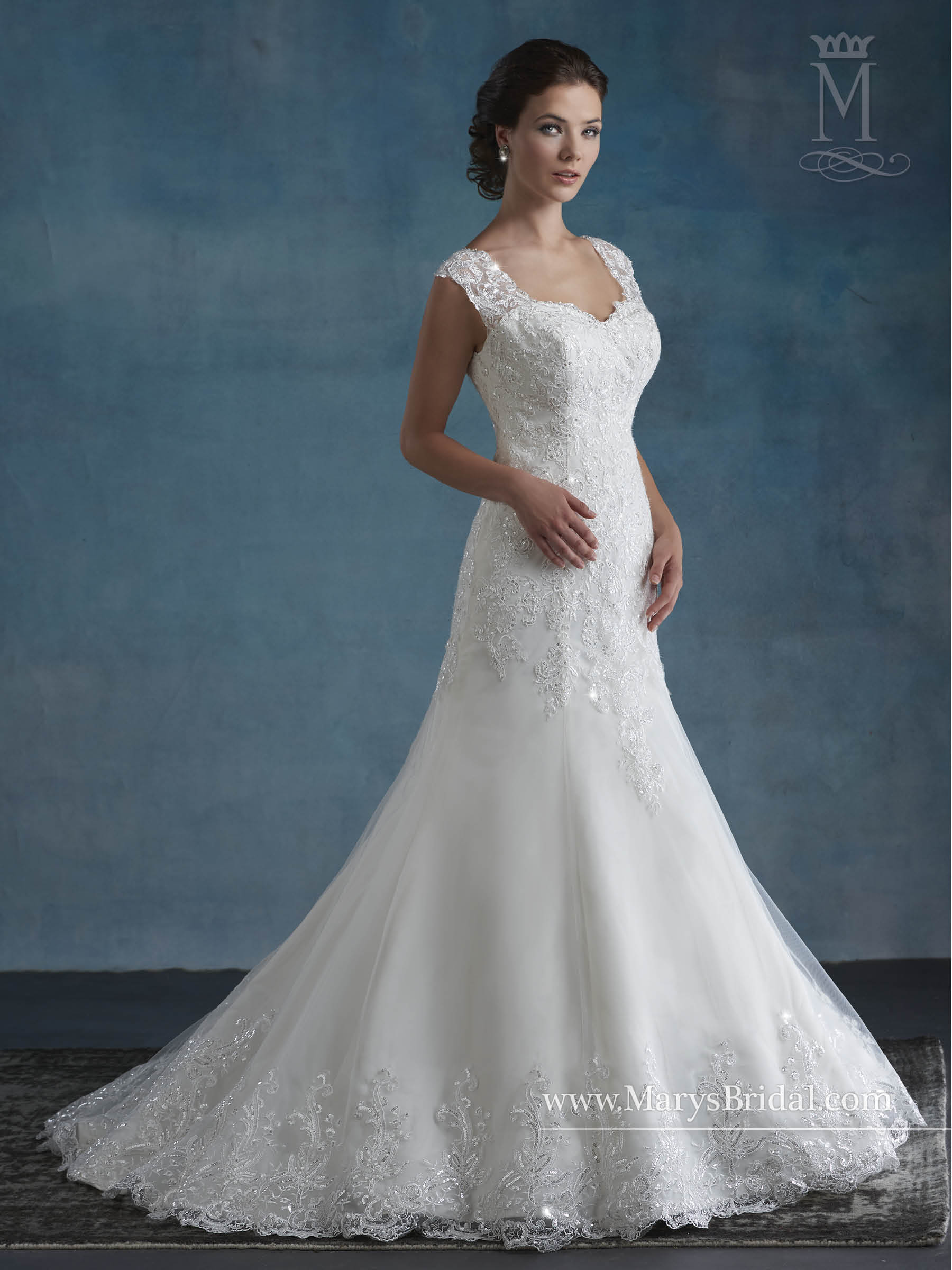 Bridal Wedding Dresses | Style - 6522 in Ivory or White Color