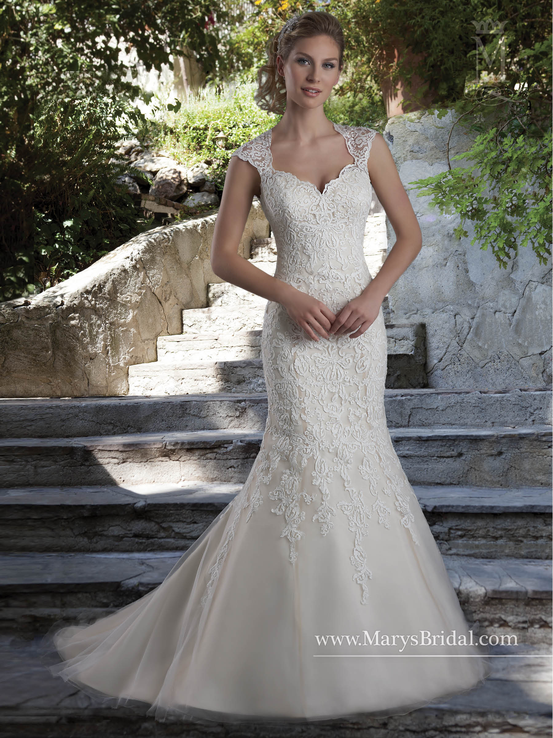Bridal Wedding Dresses   Style - 6538 in Champagne, Ivory, or White ...