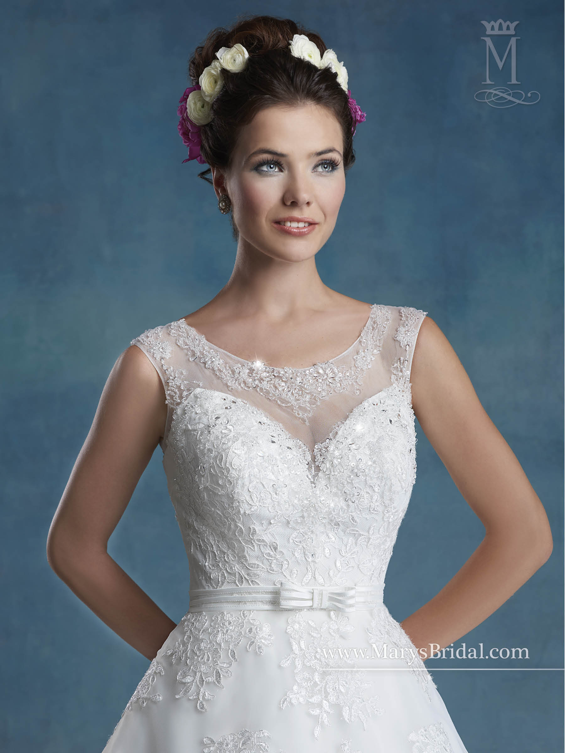 Bridal Wedding Dresses | Style - 6548 in Ivory or White Color