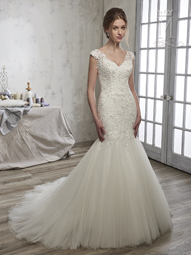 Color Bridal Wedding Dresses - Style - 6581