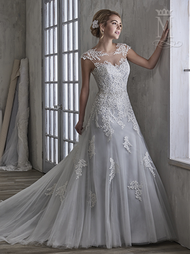 Color Bridal Wedding Dresses - Style - 6593