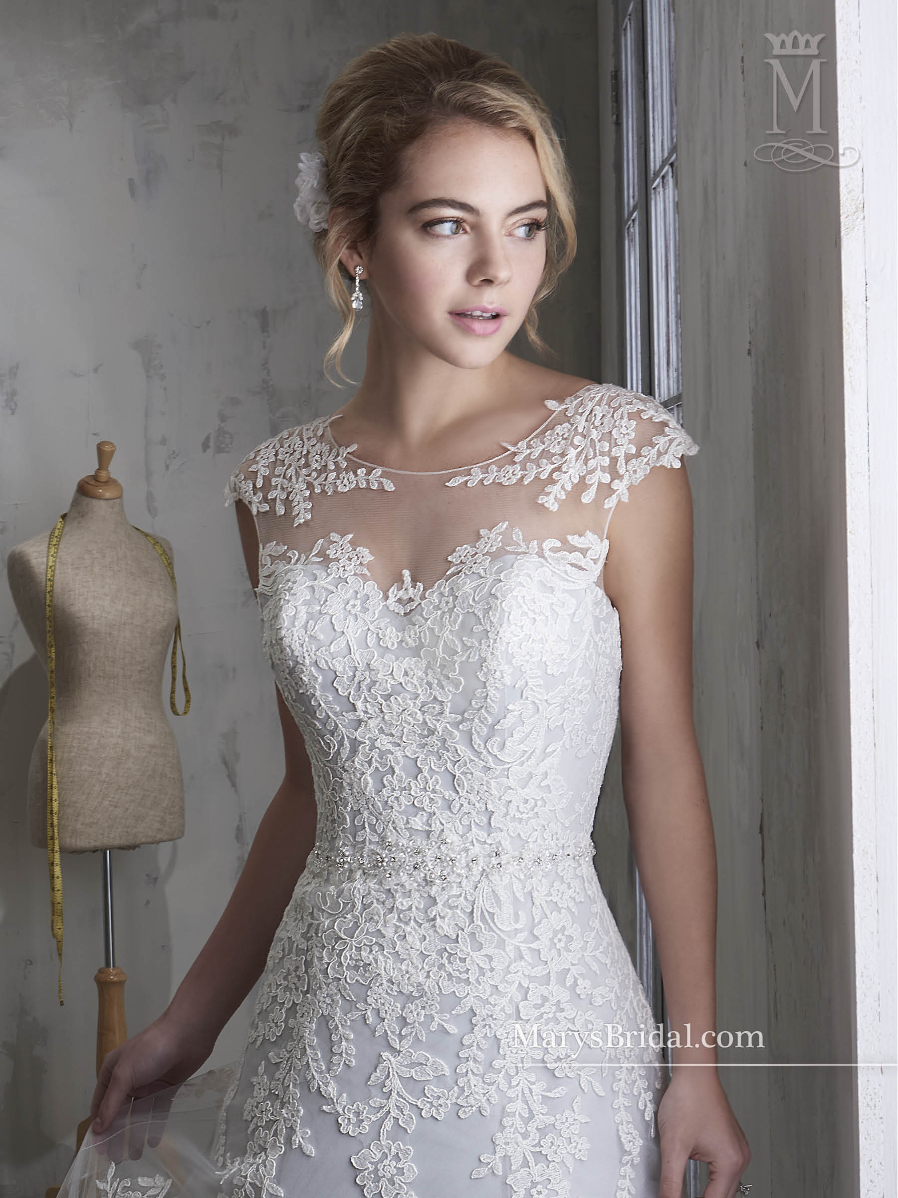 Bridal Wedding Dresses | Mary's | Style - 6593
