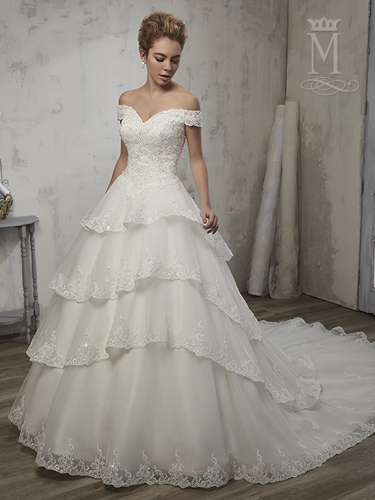 Color Bridal Wedding Dresses - Style - 6598