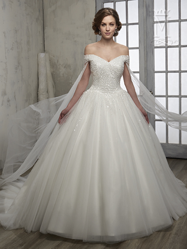 Color Bridal Wedding Dresses - Style - 6599