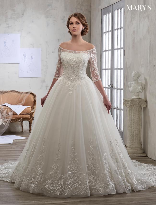 Color Bridal Wedding Dresses - Style - 6601
