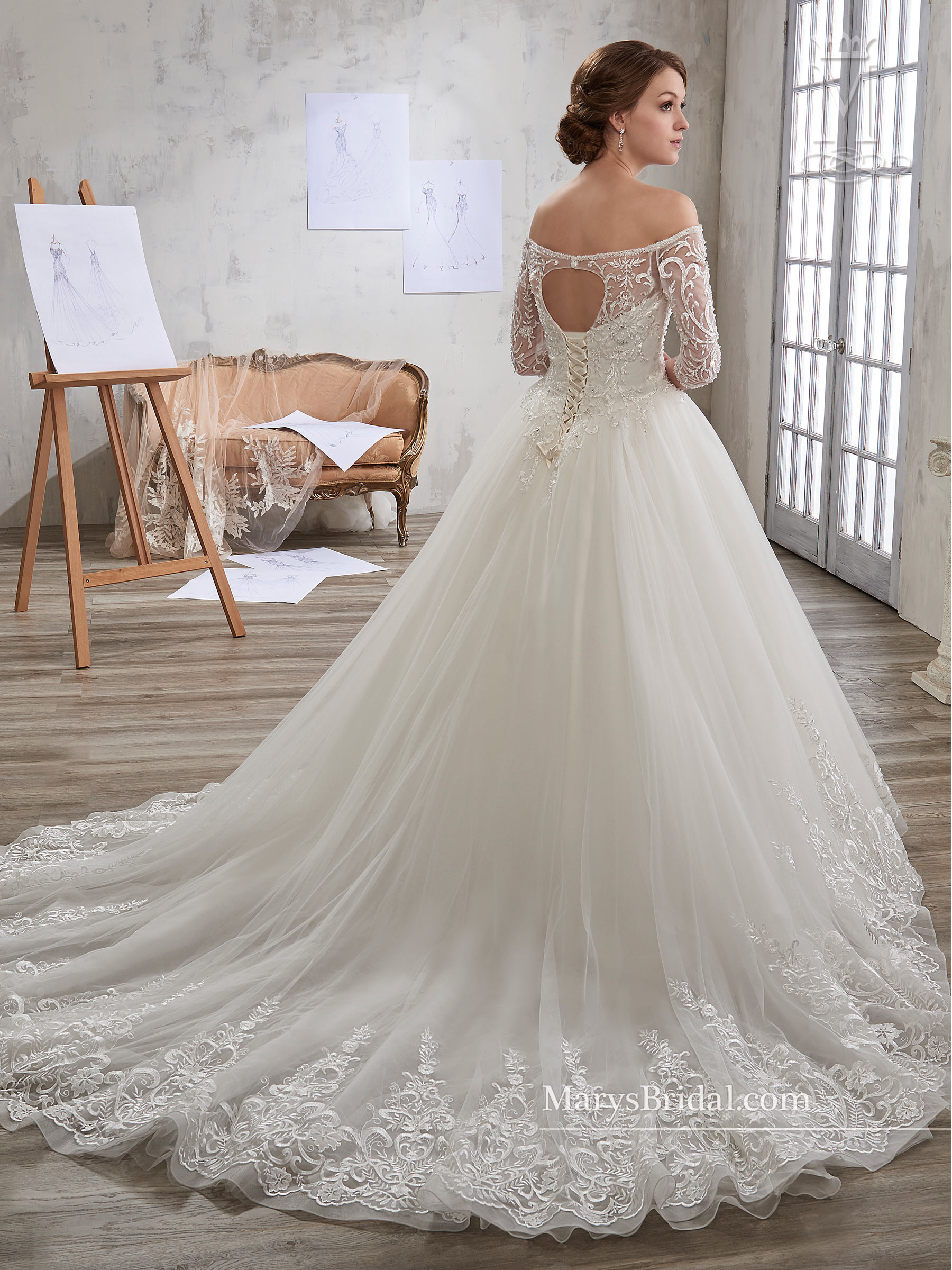 Bridal Wedding Dresses | Mary's | Style - 6601