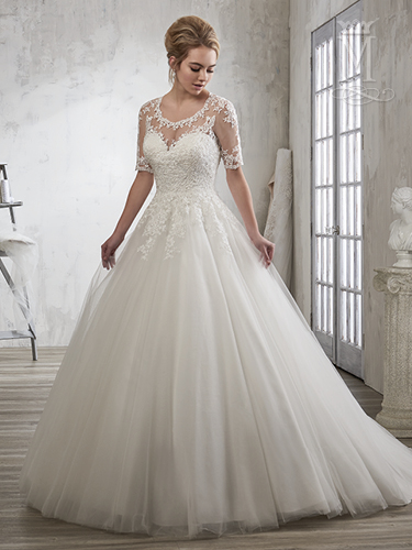 Color Bridal Wedding Dresses - Style - 6605
