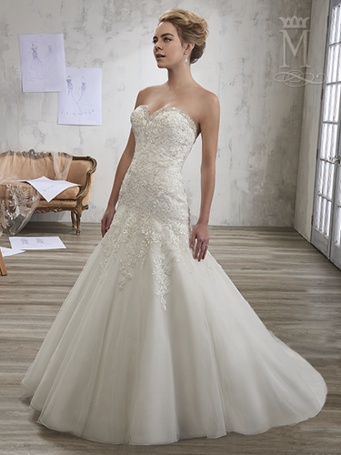 Color Bridal Wedding Dresses - Style - 6607