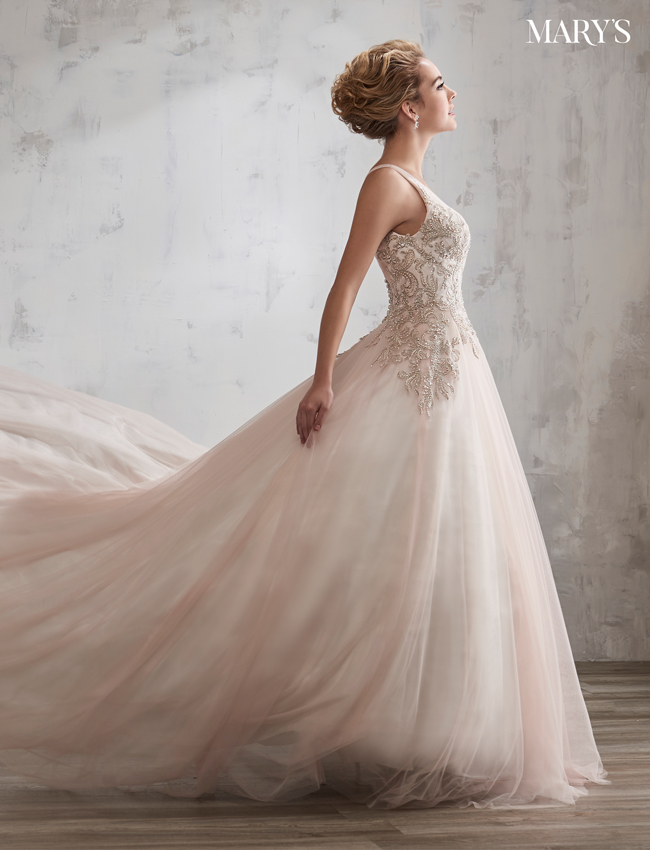Color Bridal Wedding Dresses - Style - 6609