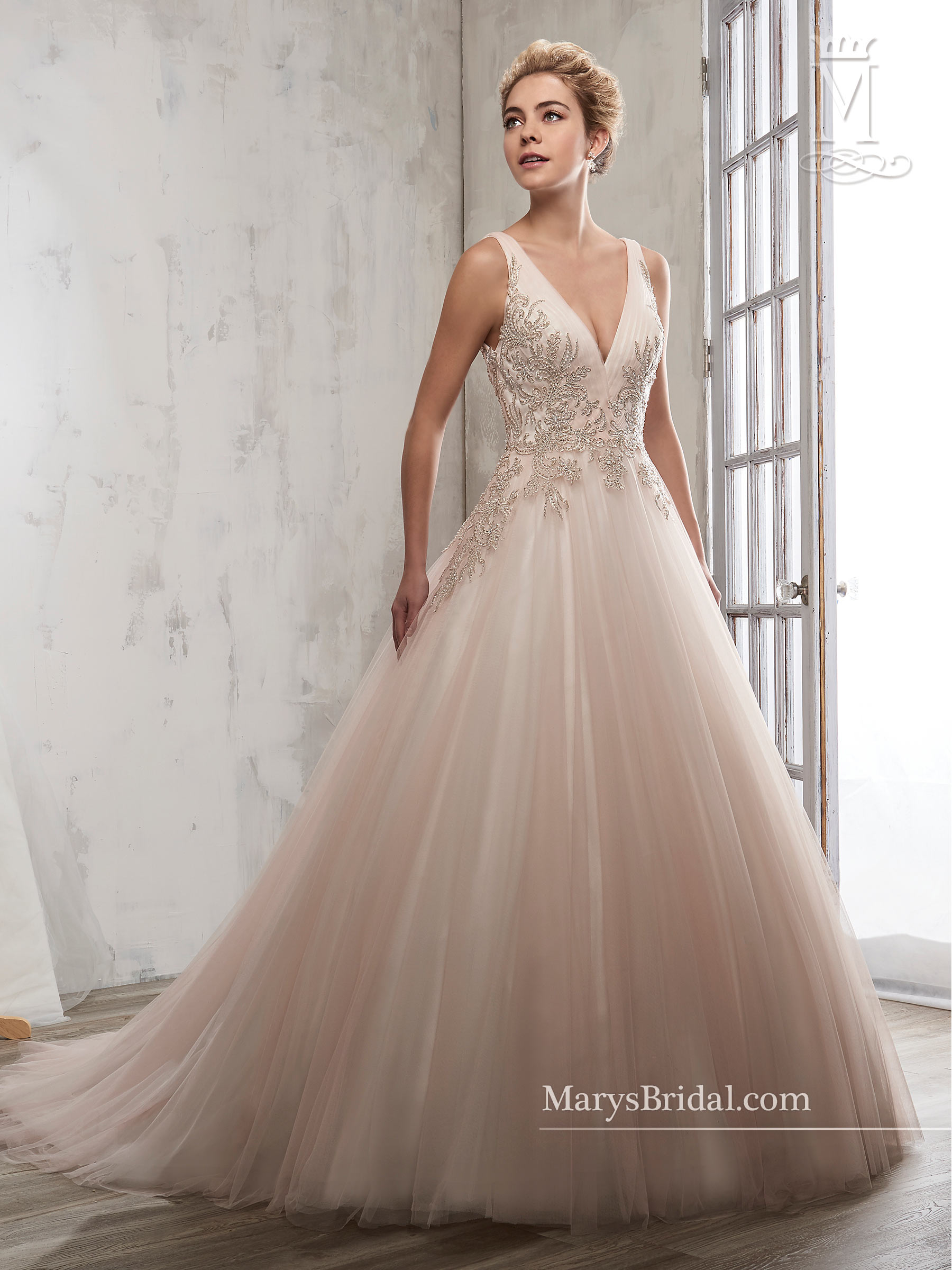 Bridal Wedding Dresses Mary S Style 6609
