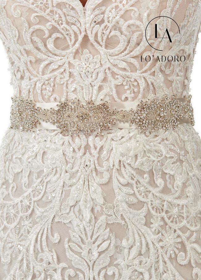Color Bridal Belts - Style - B101