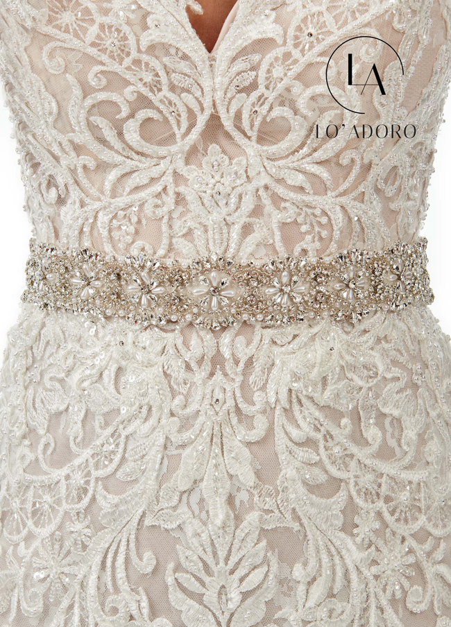 Color Bridal Belts - Style - B102