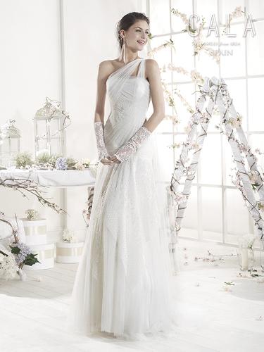 Color Bridal Wedding Dresses - Style - B8035