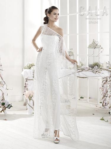 Color Bridal Wedding Dresses - Style - B8048