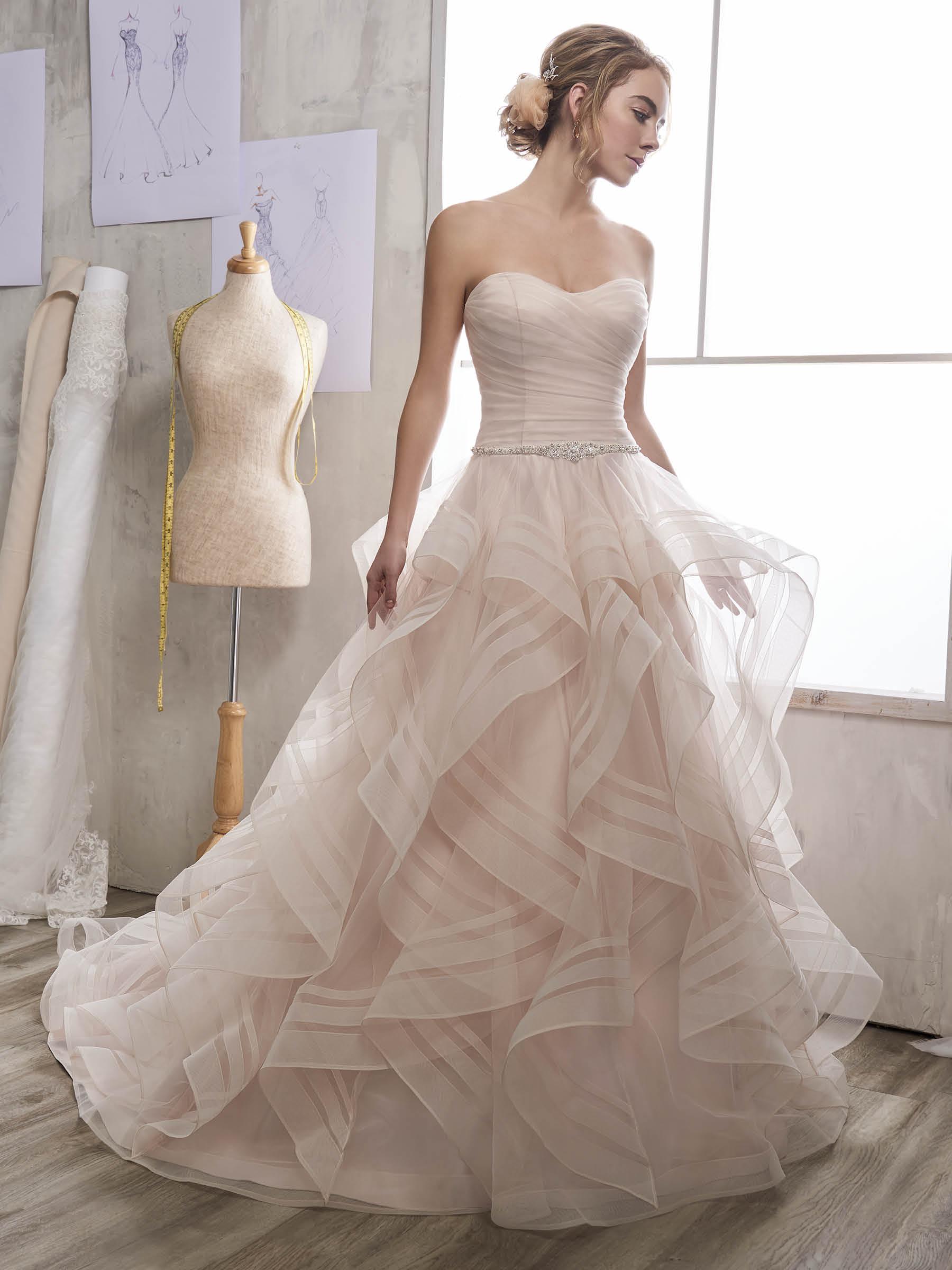 a691faba41b3 Wedding Dresses Pink Colour - raveitsafe