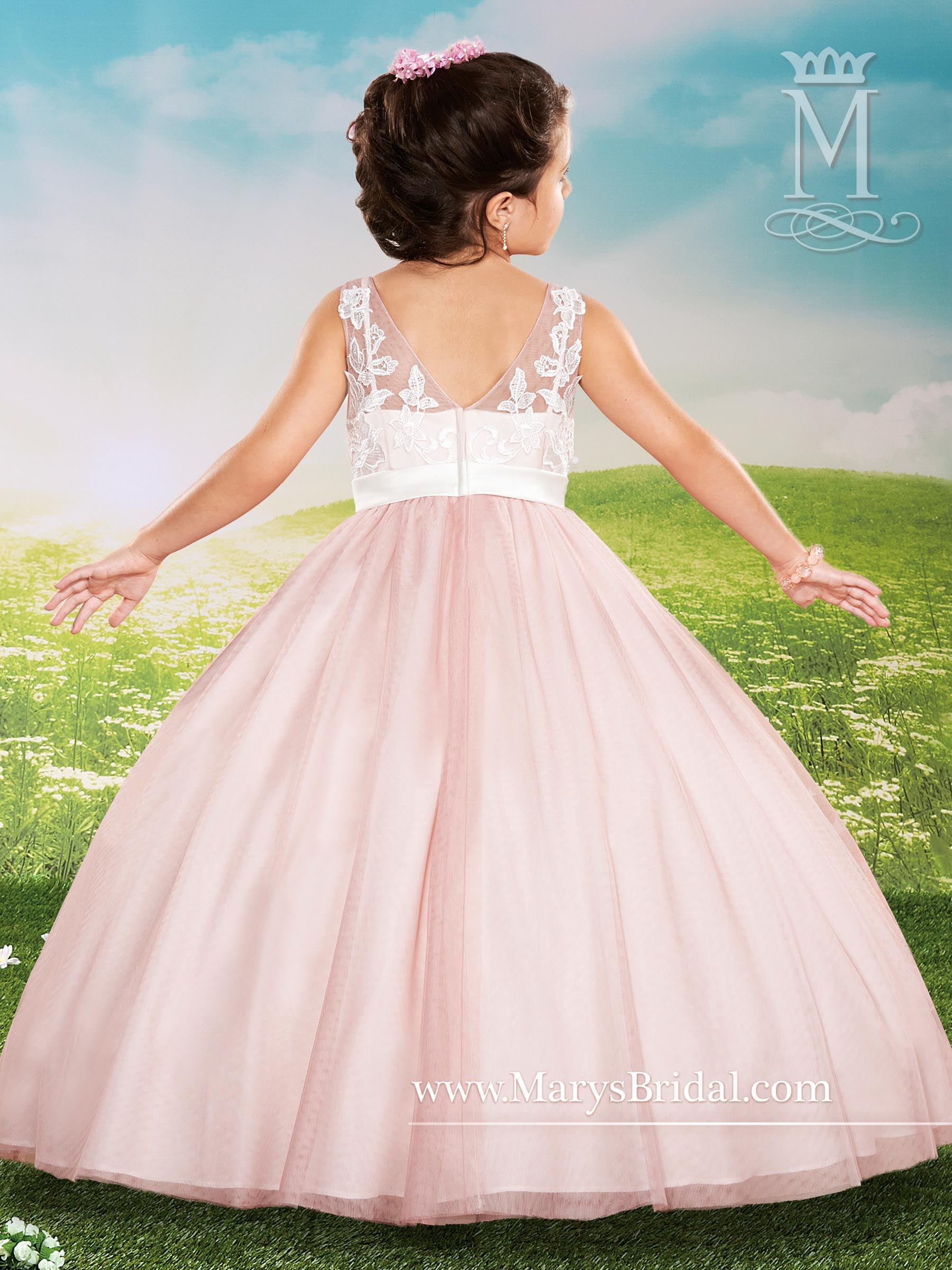 Angel Flower Girl Dresses | Mary's Angels | Style - F436