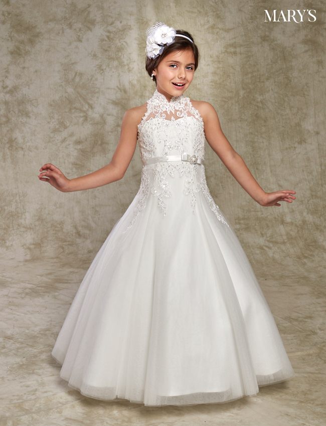 Ivory Color Angel Flower Girl Dresses - Style - F537