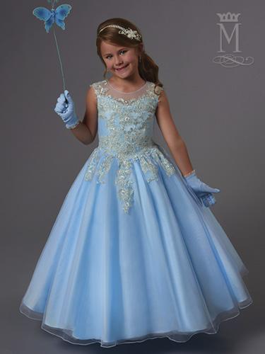 Color Angel Flower Girl Dresses - Style - F552