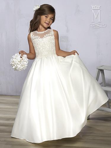 Ivory Color Angel Flower Girl Dresses - Style - F576