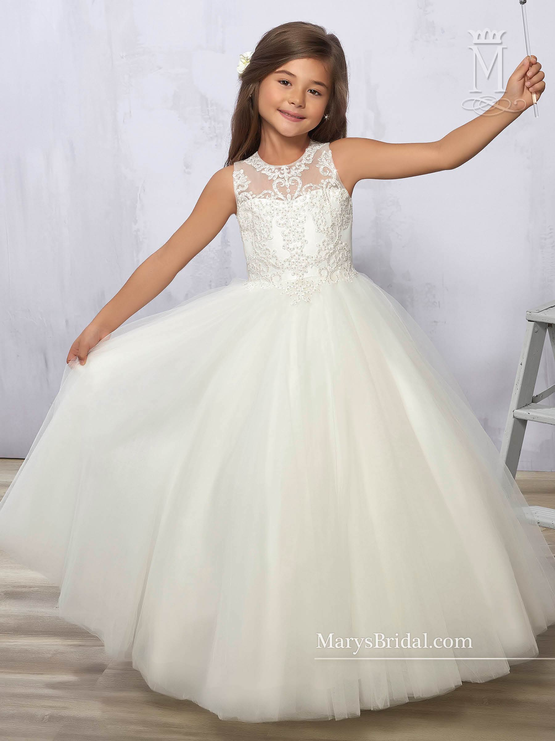 Angel Flower Dresses Mary S Angels Style F577