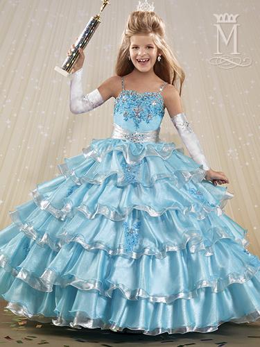 Color Angel Flower Girl Dresses - Style - FP145