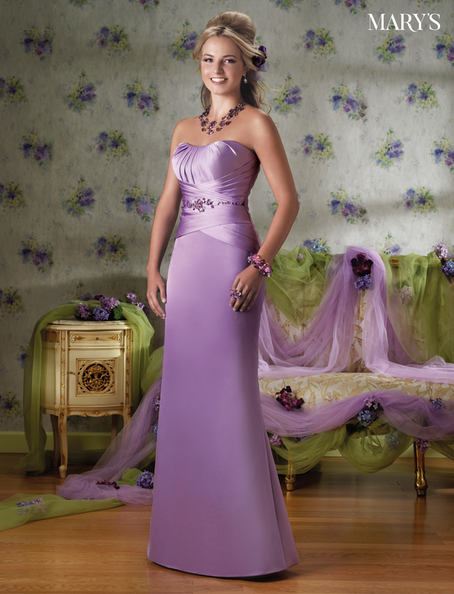 Color Amalia Bridesmaid Dresses - Style - M1047