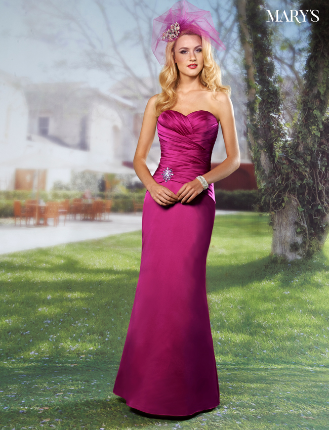 Color Amalia Bridesmaid Dresses - Style - M1382