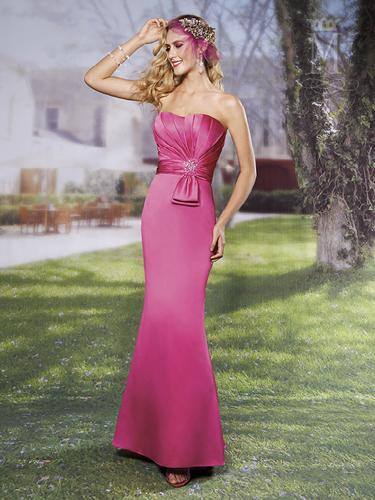 Color Amalia Bridesmaid Dresses - Style - M1392